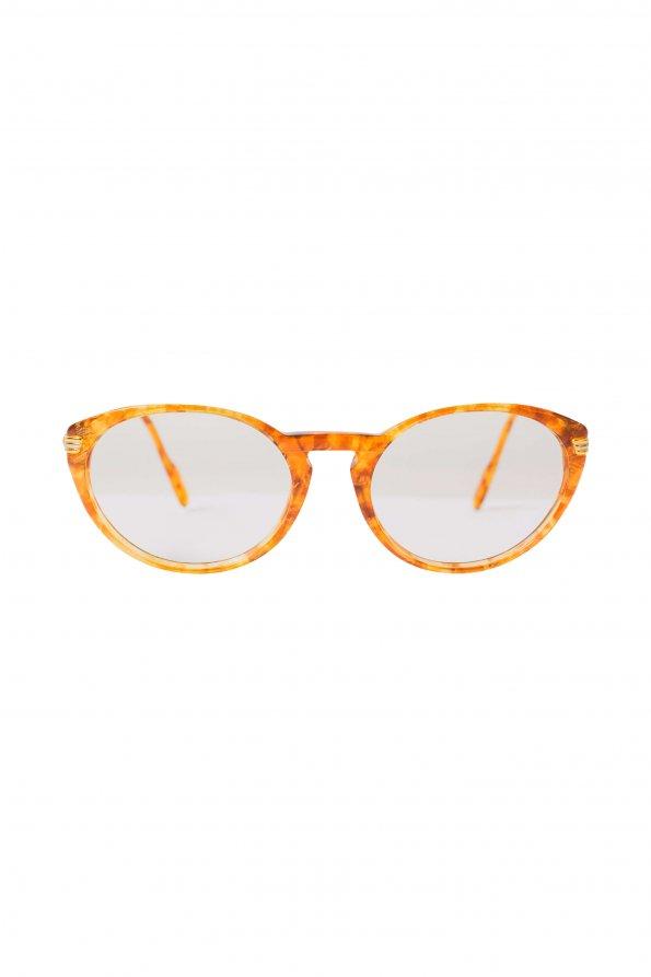 משקפיי ראיה חום עם זהב 1
