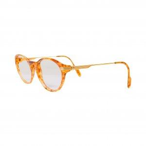 משקפיי ראיה חום עם זהב 2
