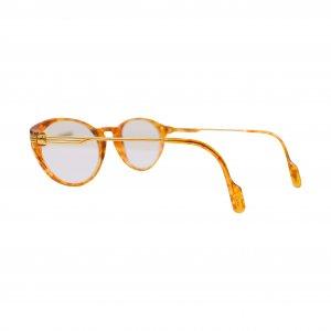 משקפיי ראיה חום עם זהב 3