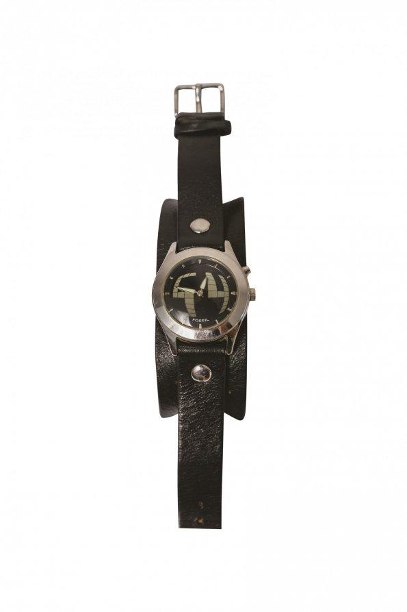 שעון שחור fossil 1