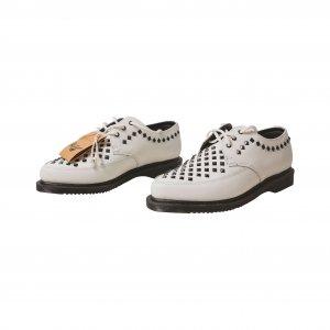 נעלי מוקסין לבנות ניטים 2