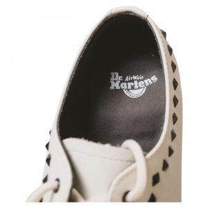 נעלי מוקסין לבנות ניטים 4