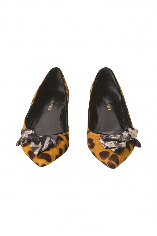 נעלי בובה מנומרות 1