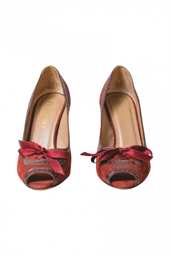 נעלי עקב אדומות red valentino 1