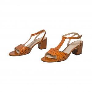 נעלי עקב חומות סנדל 2