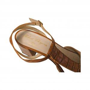 נעלי עקב חומות סנדל 3