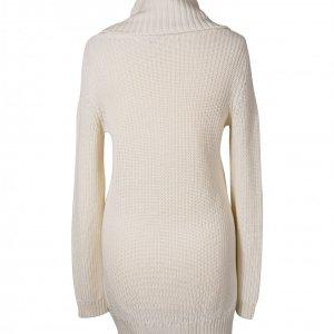 שמלת סוודר גולף שמנת 2