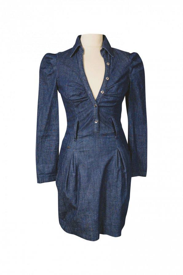 שמלת ג׳ינס miss sixty 1
