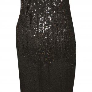 שמלת מקסי עם פייטים וחרוזים 3