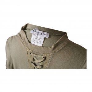 שמלת מקסי ירוק חאקי 3