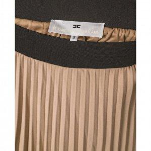 חצאית פליסה בז' 3