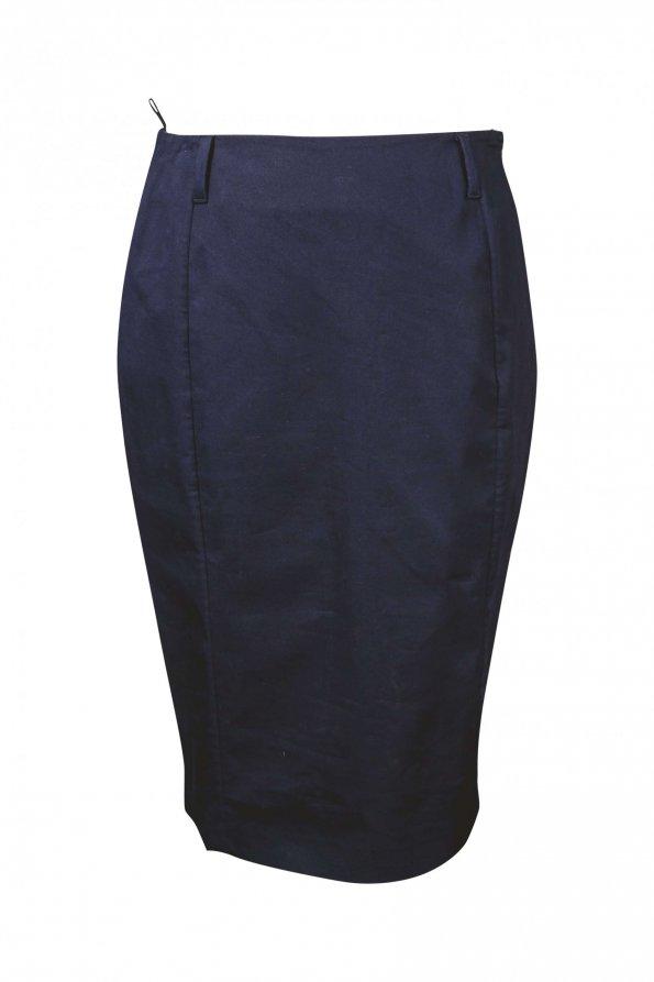 חצאית כחולה עפרון 1