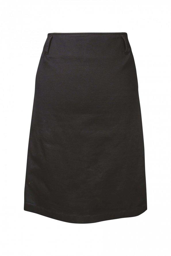 חצאית עיפרון שחורה - Prada 1