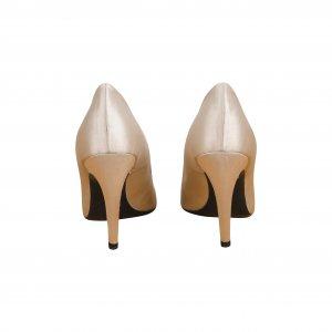 נעלי עקב פנינה עם ריבוע יהלומים 5