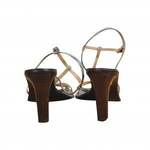 נעלי עקב עץ BALLY 3
