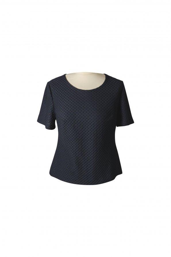 חולצה קצרה שחורה 1
