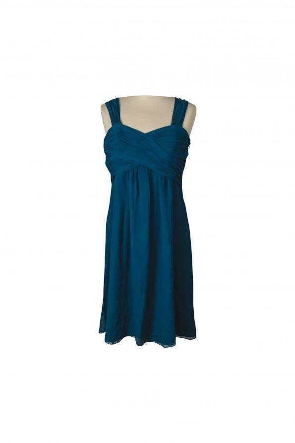 שמלה ירוק כהה 1