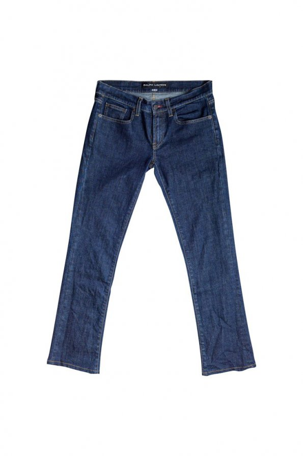 ג'ינס כהה גזרה ישרה 1
