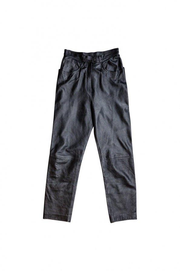 מכנס עור שחור 1