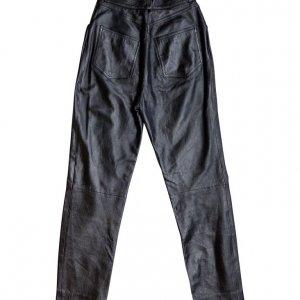 מכנס עור שחור 2