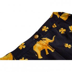 חצאית מחויטת פילים 4
