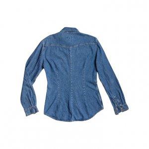 חולצה מכופתרת ג׳ינס guess 2
