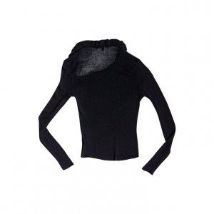 חולצת סריג שחורה 2