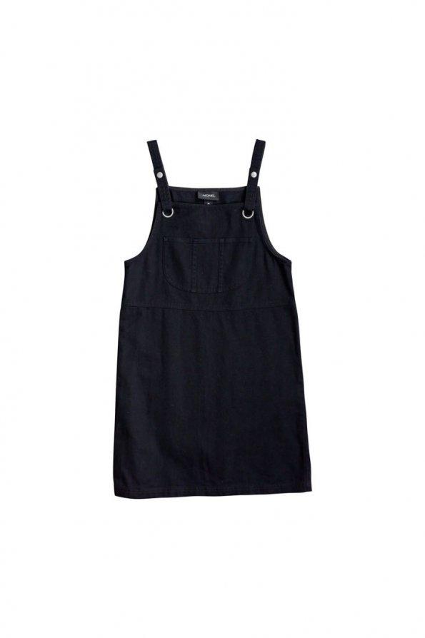 שמלת אוברול שחורה 1