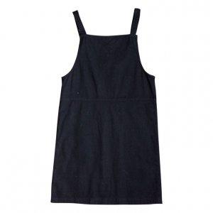 שמלת אוברול שחורה 2