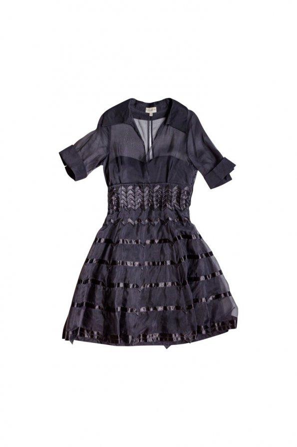 שמלת ערב שחורה 1