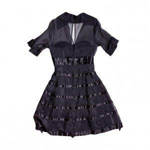 שמלת ערב שחורה 2