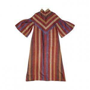 שמלת משכית פסים 2