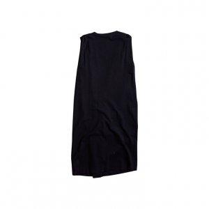 שמלת מעטפת שחורה cos 2