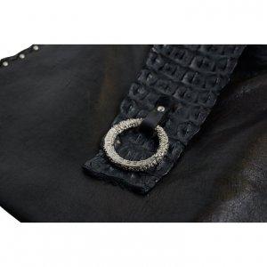 תיק תנין שחור 2