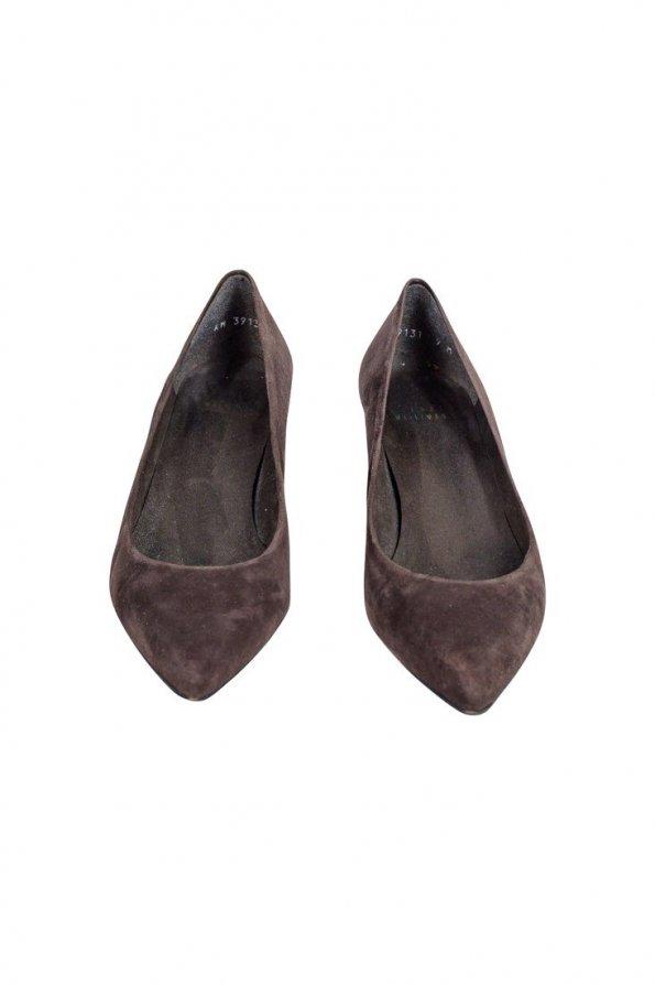 נעלי עקב חומות זמש 1