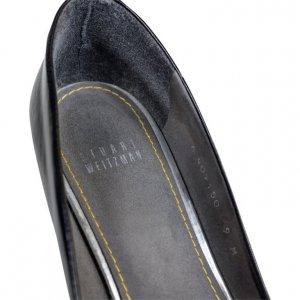 נעלי עקב שחור לקה 5