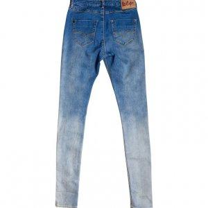 סקיני ג׳ינס תכלת כהה 2