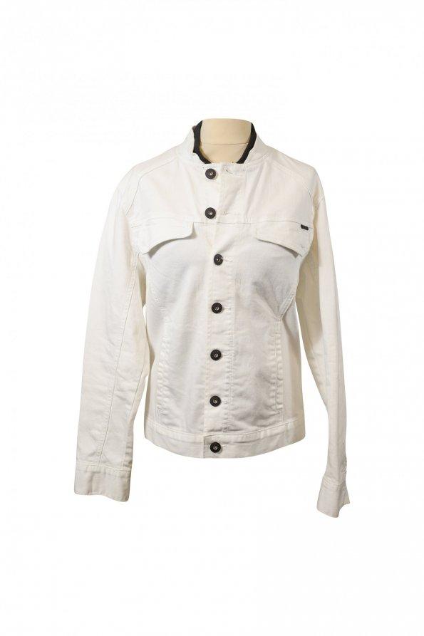 ג'קט ג'ינס לבן 1