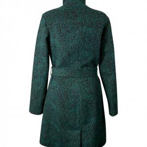 מעיל ארוך לבד ירוק מנומר 2