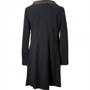 ג'קט שמלה שחור עם קשירה 2