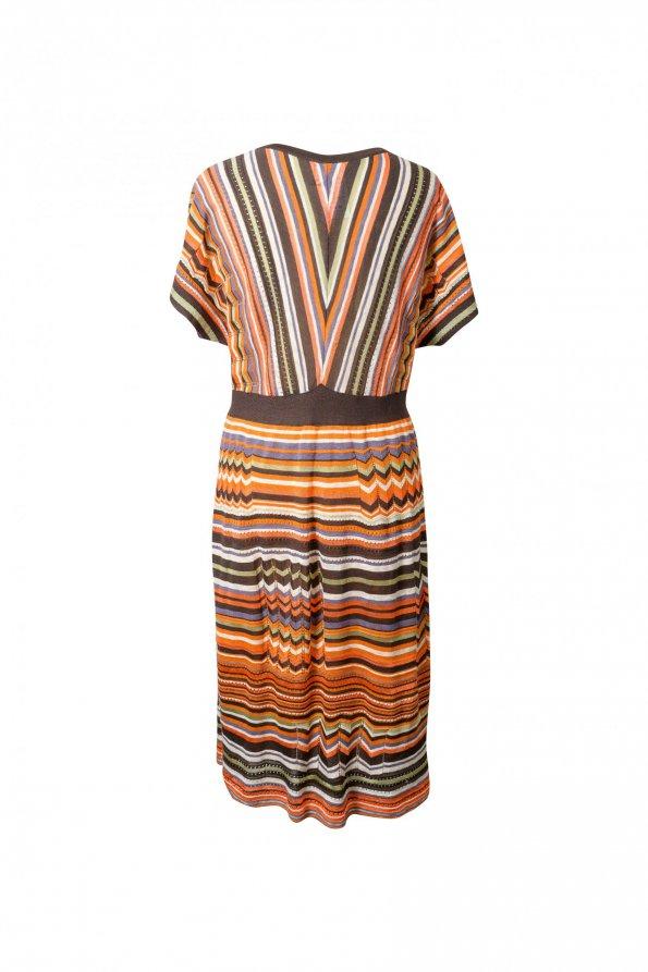 שמלת סריג פסים 1