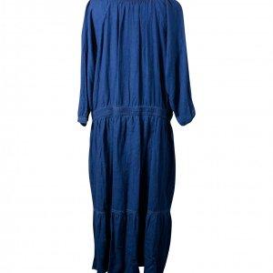 שמלת מקסי ג'ינס כהה 2