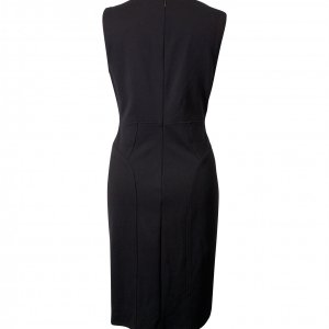 שמלה שחורה מחויטת 2
