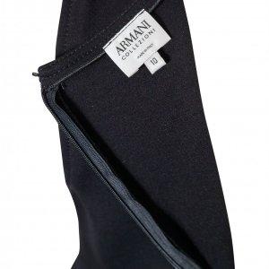 שמלה שחורה מחויטת 3