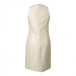 שמלת פשתן זהב פנינה 2