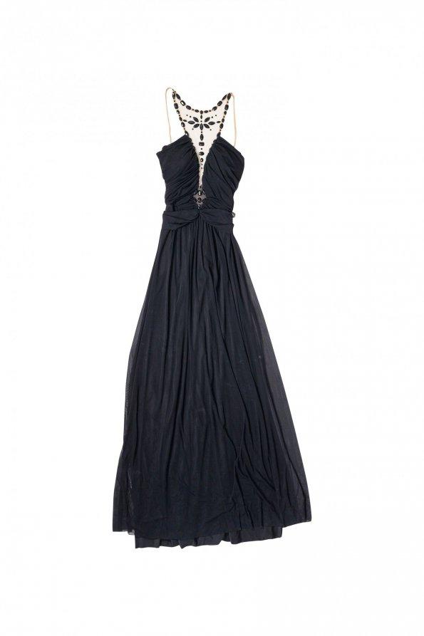 שמלת ערב שחורה אלון ליבנה 1