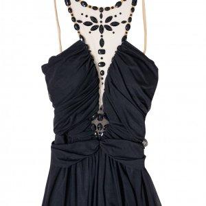 שמלת ערב שחורה אלון ליבנה 2