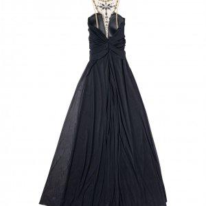 שמלת ערב שחורה אלון ליבנה 4