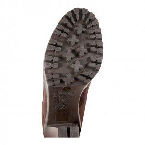 נעלי עקב סגול בורדו 4