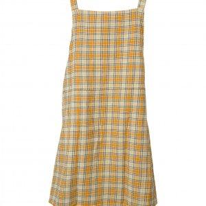 שמלה משצבות צהובה 3